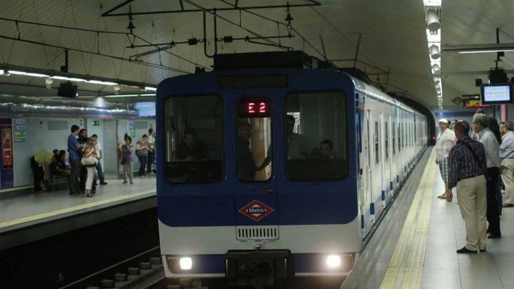 Metro de Madrid reforzará este lunes el servicio de sus líneas 1, 2 y 4