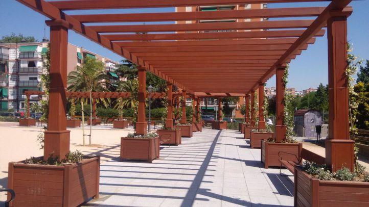 Concluyen los trabajos de mejora en el distrito de Latina