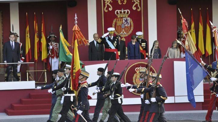 El Rey preside el último desfile militar del 12 de Octubre de la legislatura