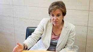 Purificación Causapié portavoz del Grupo Municipal Socialista en el Ayuntamiento de Madrid