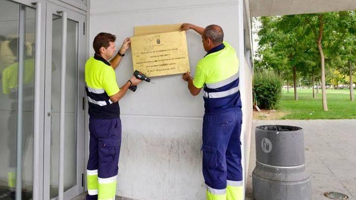 Valdemoro retira todas la placas conmemorativas con los nombres de Granados y Moreno