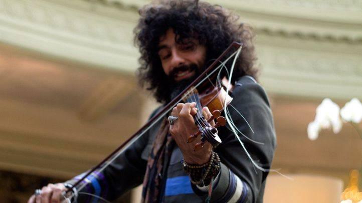 El violinista Ara Malikian, nominado a los Grammy Latinos.