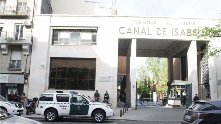 Operación de la Guardia Civil contra la corrupción relacionada con la gestión del Canal de Isabel II
