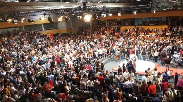 Acto de presentación de candidaturas de PSOE