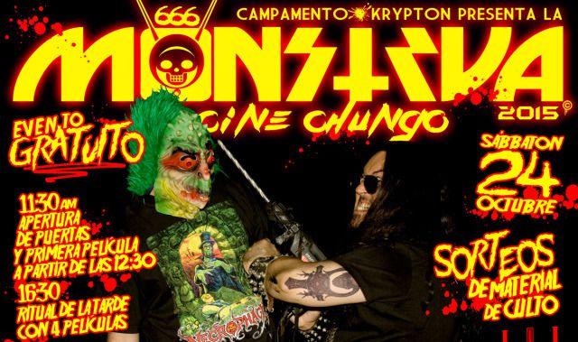 Cartel de la 'Monstrua de cine chungo'