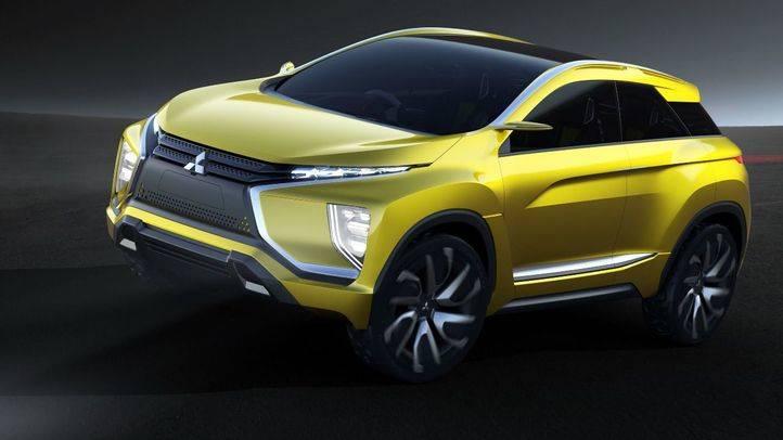 Mitsubishi eX Concept, todoterreno y eléctrico
