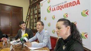 Julián Sánchez portavoz de Convergencia de la Izquierda