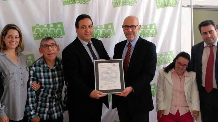 La Cámara de Comercio certifica el Sistema de Gestión ISO 9001 del Grupo APADIS