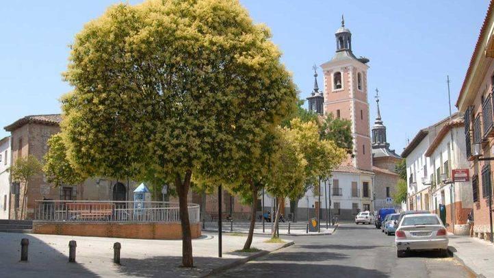 Casco histórico de Valdemoro.