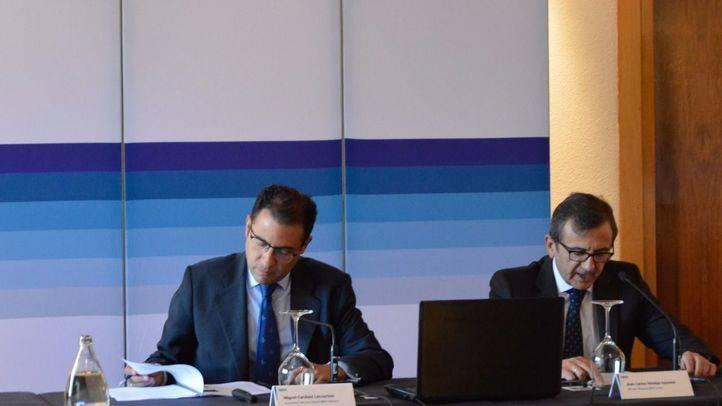 Presentación del informe económico de BBVA Research 'Situación Madrid'.