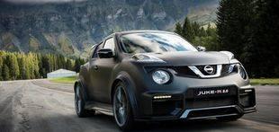 Nissan Juke-R 2.0, redimiento llevado al límite