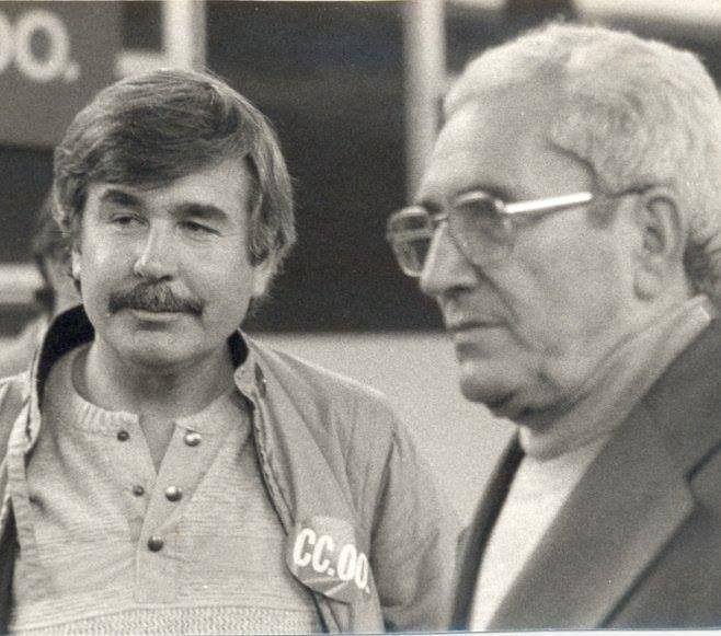 Francisco Naranjo y Marcelino Camacho