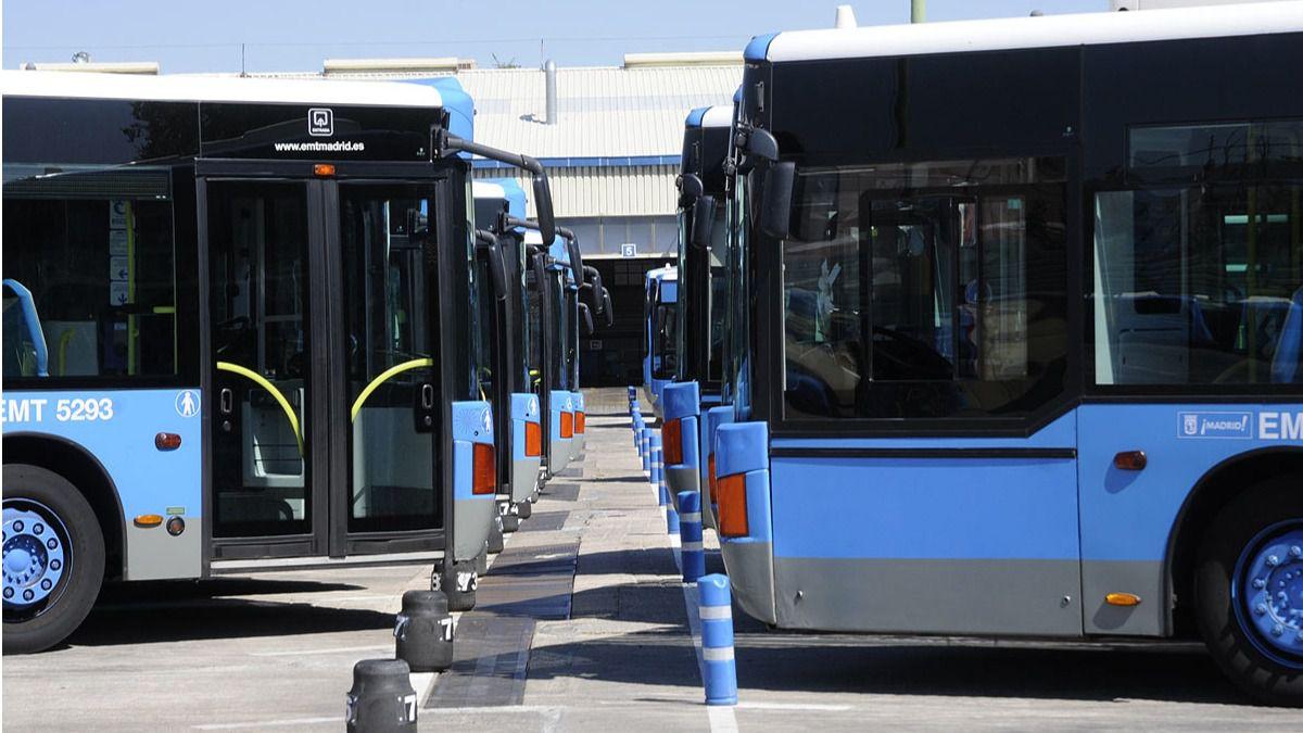 Transportes pone 88 autobuses adicionales para facilitar for Oficinas del consorcio de transportes de madrid puesto 2