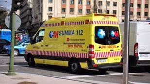 Herido grave un trabajador al que una retroescavadora le ha aplastado un pie