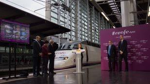 El primer tren AVE con WiFi a bordo empieza a circular esta semana