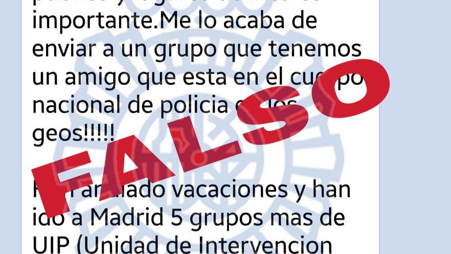 Bulo sobre atentado inminente en Madrid