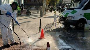 Limpieza de calles intensiva