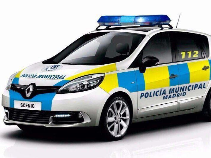 Infografía del nuevo modelo de coche de Policía Municipal de Madrid