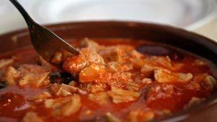 Los callos cobran protagonismo en los menús madrileños