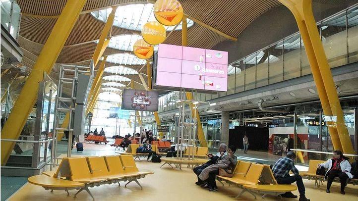 T4 del Aeropuerto Adolfo Suárez Madrid-Barajas