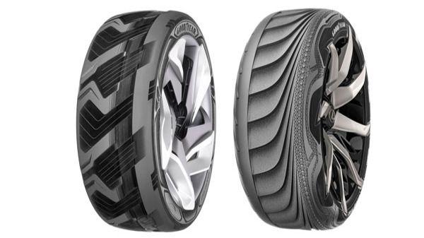 Así serán los neumáticos del futuro