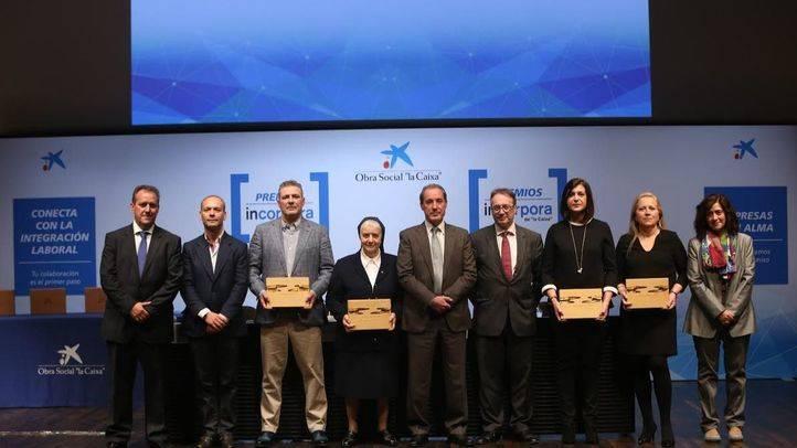 Premios Incorpora 'la Caixa'