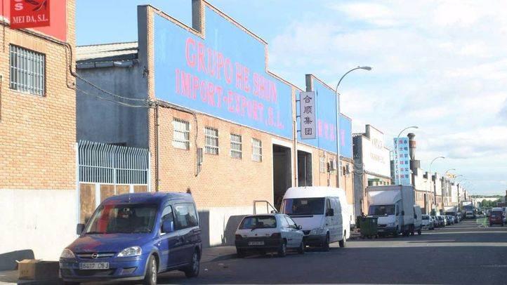 Operación en Cobo Calleja contra la economía sumergida en distribuidores de productos chinos