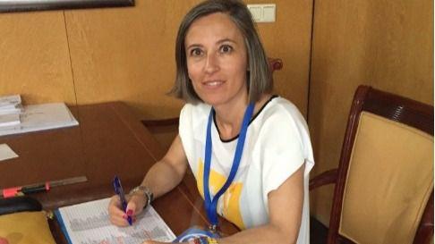 Olga Fernández, exalcaldesa de Serranillos. (Archivo)