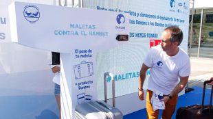 'Maletas contra el hambre' pesará la solidaridad de los madrileños en Atocha