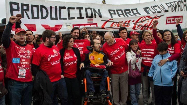 CCOO denuncia que Coca-Cola Iberian Partners no está readmitiendo de forma