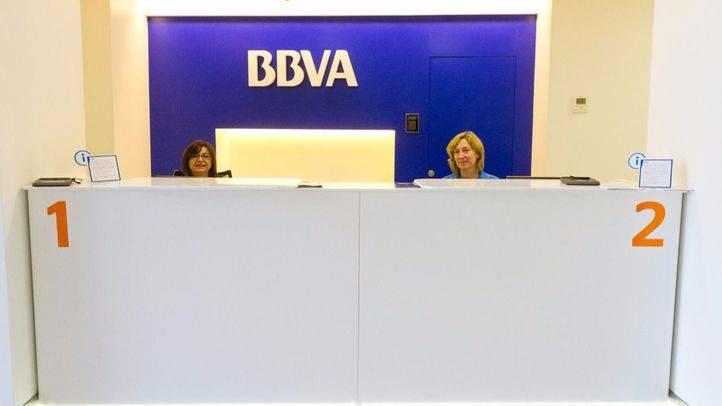 Oficina de BBVA.