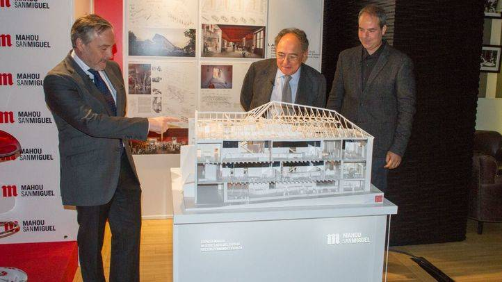 Presentación del proyecto ganador del concurso de arquitectura para la creación del Espacio Mahou en el palacio del Duque del Infantado.