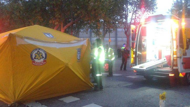 Herida grave tras ser arrollada por un autobús en el barrio de La Concepción