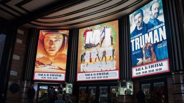 El cine Capitol de Gran Vía durante la Fiesta del Cine.