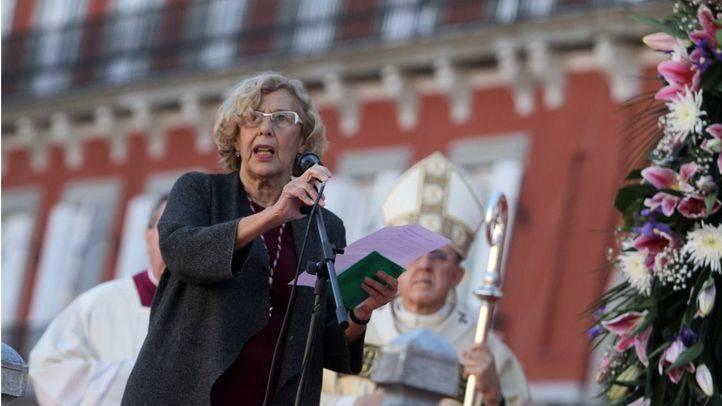Carmena defiende el compromiso para que Madrid sea