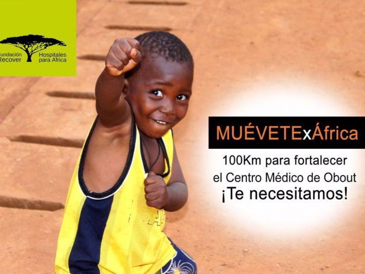 '100 km x África', zancadas de solidarad en el norte de Madrid