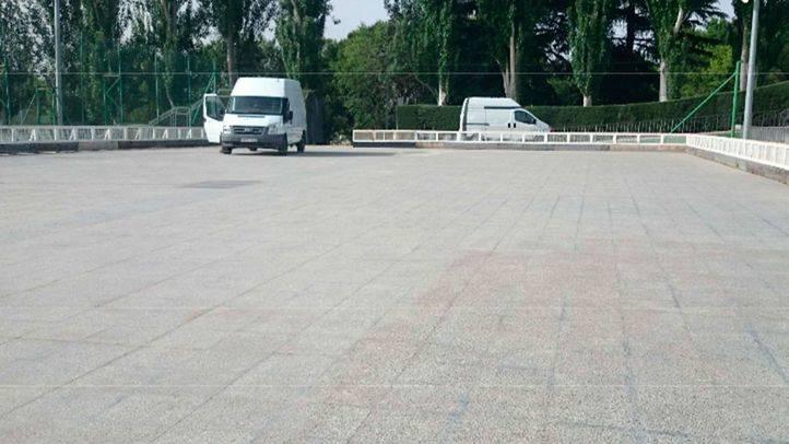188.000 euros para cubrir la pista de patinaje del polideportivo de Moratalaz