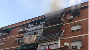 El incendio ha tenido lugar en una cuarta planta