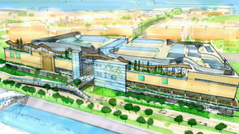 El Ayuntamiento Modifica El Diseño Del Centro Comercial De