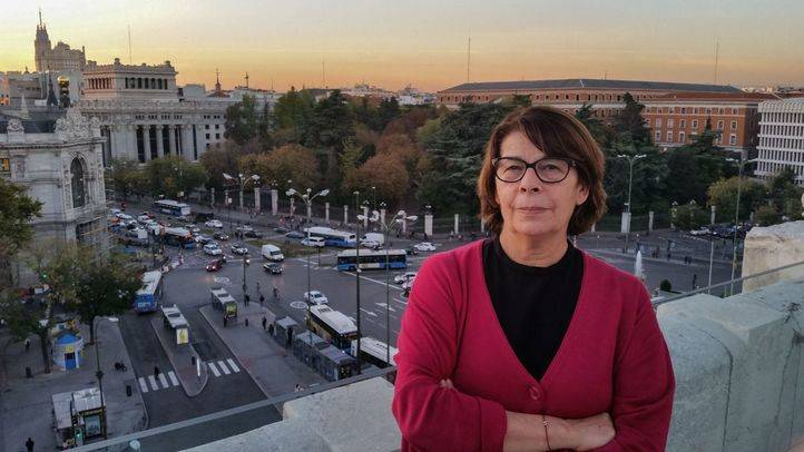 La delegada de Medio Ambiente, Inés Sabanés