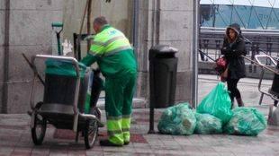 Archivo. Huelga de basura