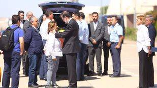 La familia de Echeverría recoge la Gran Cruz del Mérito Civil de manos de Rajoy
