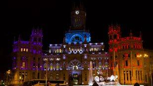Madrid se solidariza con el pueblo francés