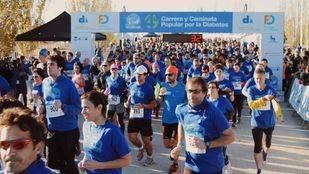 Más de 4.000 corredores participan en la Carrera y Caminata Popular por la Diabetes