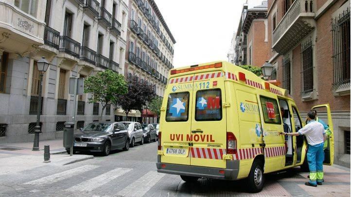 Herido grave tras caer de una altura de 6 metros en Leganés