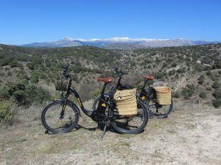Bicicletas eléctricas en Manzanares El Real