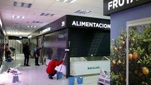 Se ultiman los detalles de los puestos del Mercado Municipal de Prosperidad a días de su reapertura tras una reforma integral.