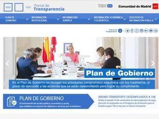 La Comunidad lanza su portal de transparencia