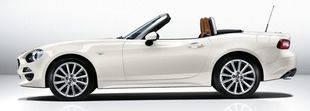 Fiat 124 Spider, interpretación moderna del legendario modelo de los `60