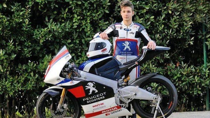 El piloto Lorenzo Dalla Porta